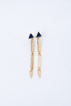 Lady Grey Exclusive Triangle Link Earring