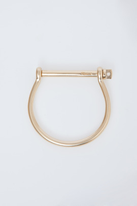 Miansai Yellow Gold Screw Cuff