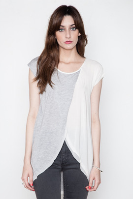 Addison Bowery Crossover Top