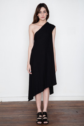 DRKSHDW Women's Asymmetric Chareau Dress