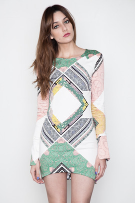 Shona Joy We Surrender L/S Body Con