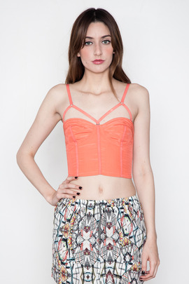 Funktional Achromatic Bustier