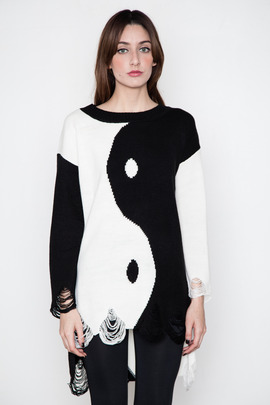 UNIF Yin-Yang Sweater