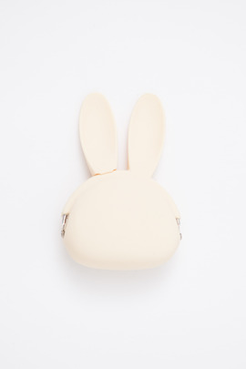 Ikuyo Ejiri White Rabbit Pochibi Coin Purse