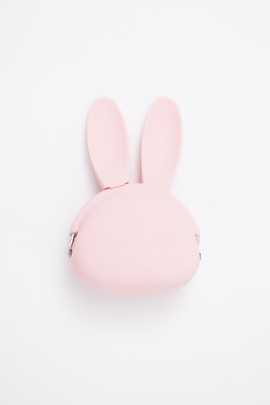 Ikuyo Ejiri Pink Rabbit Pochibi Coin Purse
