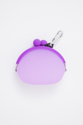 Ikuyo Ejiri Grape Clear Pochi Coin Purse