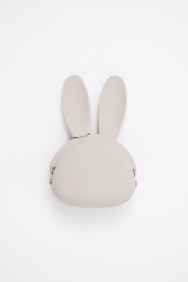 Ikuyo Ejiri Grey Rabbit Pochibi Coin Purse