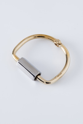 Miansai Stainless Steel/Brass Naomi Bracelet