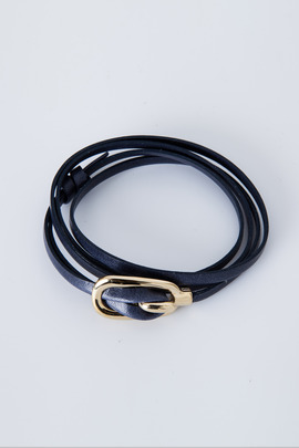 Miansai Gold/Navy New Gamle Bracelet