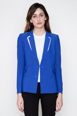 Funktional Blue Reflection Cut Out Blazer