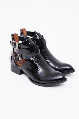 Jeffrey Campbell Exclusive Patent Crinkle Everly Boot
