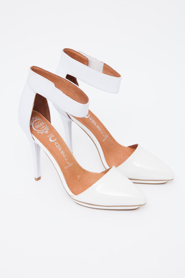 Jeffrey Campbell Exclusive Patent & Snake Solitaire Platform Pump