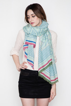 A Peace Treaty Mint Abravanel Scarf