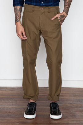 Kai-aakmann Men's Khaki Slim Chino