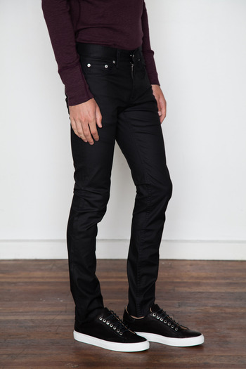 mens faded black jeans - Jean Yu Beauty