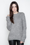 Blk-dnm-womens-light-grey-melange-sweater-10