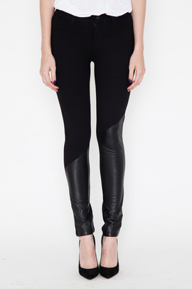 Funktional Atomic Leather Panel Skinny Pant