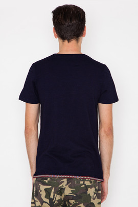 Lifetime Collective Woven Trim Tanner T-Shirt