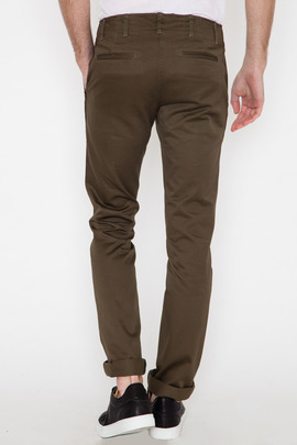 Wings + Horns Olive West Point Chino SS14
