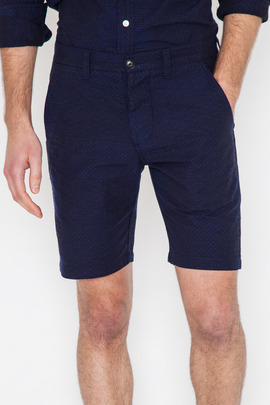 Wings + Horns Patchwork Sashiko Embroidered Short