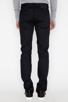 Wings + Horns Black Denim 5-Pocket Pant SS14
