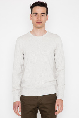 Wings + Horns Wave Knit Crewneck Sweater