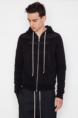 DRKSHDW Men's Georibbon Zip-Up Hoodie