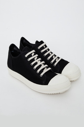 DRKSHDW Men's Small Quilt Ramones Low-Top Sneaker