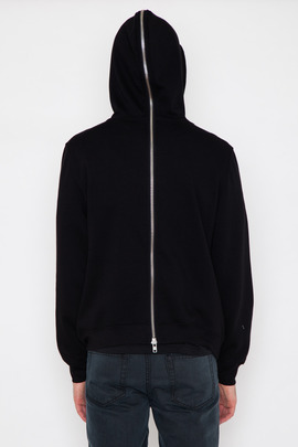 BLK DNM Men's Back-Zip Hooded Sweatshirt 16