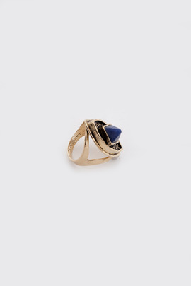 Lady Grey Gold Lucid Ring