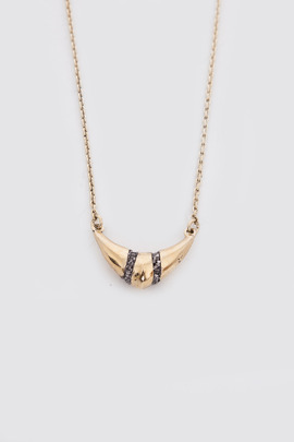 Lady Grey Mini Contra Necklace
