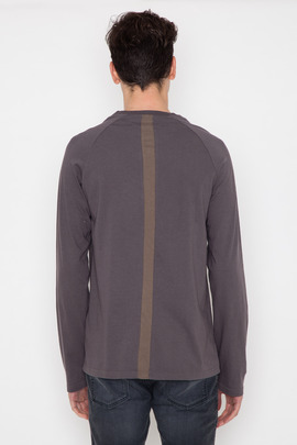 Robert Geller Seconds L/S Back Stripe T-Shirt