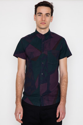 Chapter Mor Overdyed Print S/S Shirt