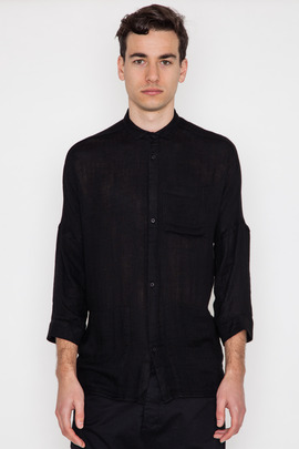 Chapter Singer 3/4 Sleeve Voile Shirt
