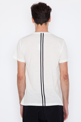 Public School Taped Back T Shirt