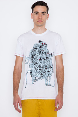 Henrik Vibskov Men's Smash Graphic Tee