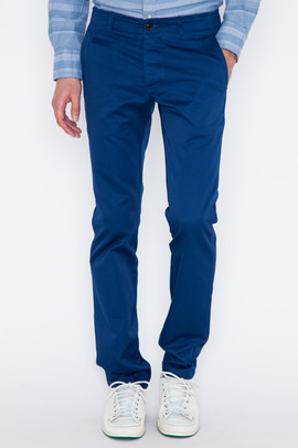 Wings + Horns Marine Blue West Point Chino SS14