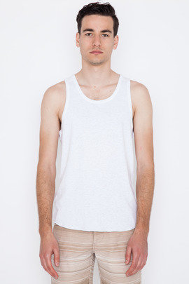 Wings + Horns White Base Tank