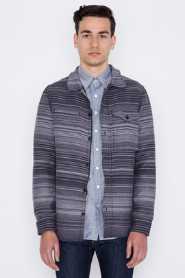 Wings + Horns Sakiori Stripe Shore Jacket
