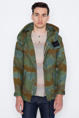 Wings + Horns Splash Camouflage Short Parka