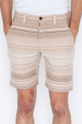 Wings + Horns Sakiori Stripe Short