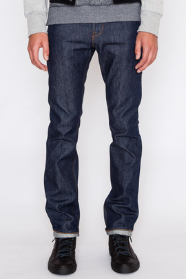 Wings + Horns Straight Fit 5-Pocket Selvedge Denim Jean