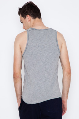 Wings + Horns Heather Grey Base Tank