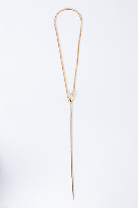 Bec & Bridge Long Snake Necklace