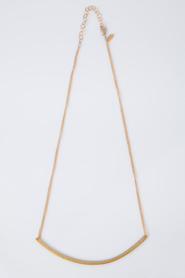 Adina Reyter Gold Vermeil Large Arc Necklace