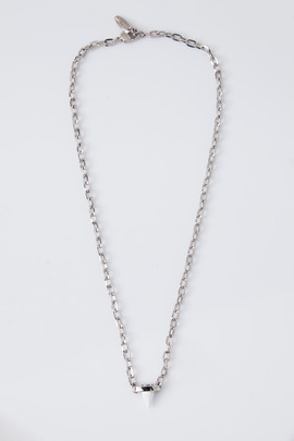 "Joomi Lim White/Rhodium ""Pretty in Punk"" Pendant Necklace"