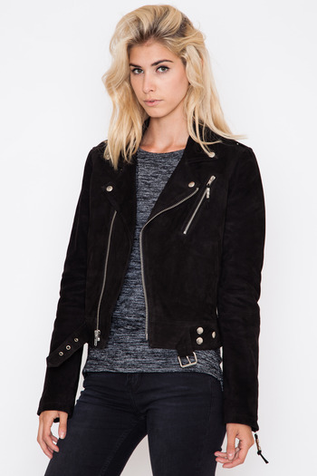 Leather Jacket Suede