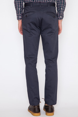Wings + Horns Midnight Pigment-Dyed Twill Tokyo Chino