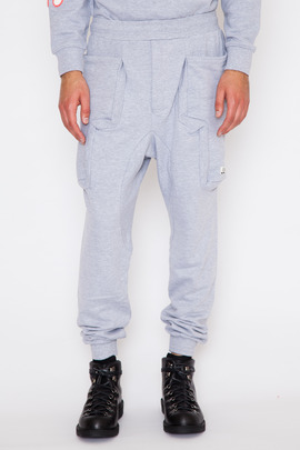 Perks and Mini Grey Marle Duplo Sweatpant FW14