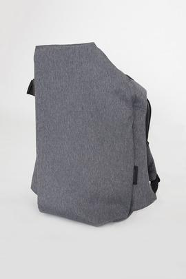 Cote et Ciel Black Melange Large Isar Rucksack